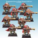 SC Thargomind Dwarves Flame Dragons Full Unit