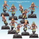 SC Wood Elves Young Axemen Full Unit