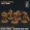Titan Forge CyberforgeJuly 20 SF Marine Unit