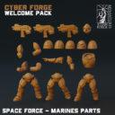 Titan Forge CyberforgeWP SF Marine Parts