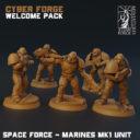 Titan Forge CyberforgeWP SF Marine Unit
