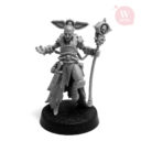 Artel W Miniatures Ravenous Assassin & Warlock Of The Crimson Legion10