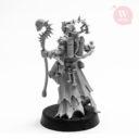 Artel W Miniatures Ravenous Assassin & Warlock Of The Crimson Legion13