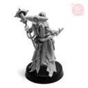 Artel W Miniatures Ravenous Assassin & Warlock Of The Crimson Legion14