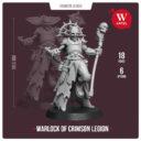 Artel W Miniatures Ravenous Assassin & Warlock Of The Crimson Legion2