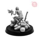 Artel W Miniatures Ravenous Assassin & Warlock Of The Crimson Legion7