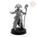 Artel W Miniatures Ravenous Assassin & Warlock Of The Crimson Legion9