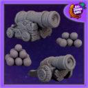 Bad Squiddo Games Fantasy Cannons 1
