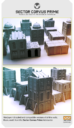 Isolation Protocol Modular 3D Printable Sci Fi Terrain STL22