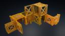Isolation Protocol Modular 3D Printable Sci Fi Terrain STL36