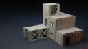 Isolation Protocol Modular 3D Printable Sci Fi Terrain STL61