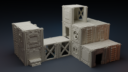 Isolation Protocol Modular 3D Printable Sci Fi Terrain STL62