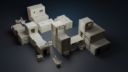 Isolation Protocol Modular 3D Printable Sci Fi Terrain STL64