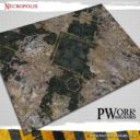 PWorkwargames Necropolis Wargames Terrain Mat 1