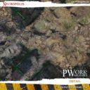PWorkwargames Necropolis Wargames Terrain Mat 3