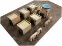 Urban Matz Badlands Bunkers Half Set