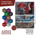 AP Metallic Colours Paint Set 2