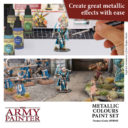 AP Metallic Colours Paint Set 6