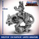 Archon Studio Skeletor On Panthor Miniature Set 02