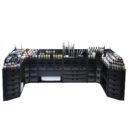 KW Black Rack Modulare Malstation