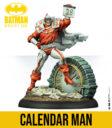 Knight Models Batman Miniature Game Calendar Man 2