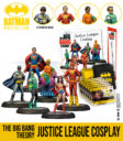 Knight Models Batman Miniature Game The Big Bang Theory Justice League Cosplay 1