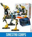 Knight Models DC Miniature Game Sinestro Corps 1