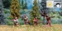 MTC110 Woodland Indians Scene