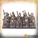 Skeleton Swords Background