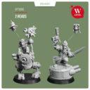 "Artel ""W"" Miniatures Red Fist Bundle Gobbo`s Glorious Revolushun10"