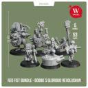 "Artel ""W"" Miniatures Red Fist Bundle Gobbo`s Glorious Revolushun2"