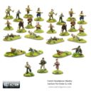 Bolt Action FR 409905503FrenchResistanceInfantrySectionPre OrderBundle