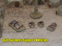 Brigade Models Gull Systems Support Vehicles
