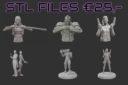 OM Ouroboros Miniatures Cyber City 20