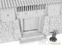 3DAlienWorlds Samurai Castle 11
