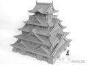3DAlienWorlds Samurai Castle 4
