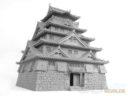 3DAlienWorlds Samurai Castle 7