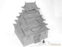 3DAlienWorlds Samurai Castle 8