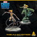 Atomic Mass Games Marvel Crisis Protocol Angela & Enchantress 4