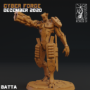 Cyber Forge  Dezember Patreon Batta