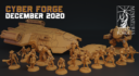 Cyber Forge  Dezember Patreon Calosc
