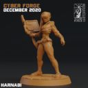 Cyber Forge  Dezember Patreon Harnabi