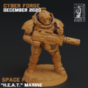 Cyber Forge  Dezember Patreon Marine