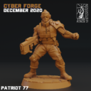 Cyber Forge  Dezember Patreon Patriot 77