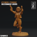 Cyber Forge  Dezember Patreon Samiko