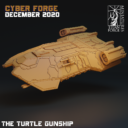 Cyber Forge  Dezember Patreon Turtle