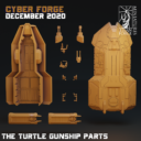 Cyber Forge  Dezember Patreon Turtle Parts