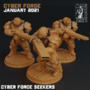 Cyber Forge  Janaur Patreon The Second Mutant Rebellion 7