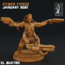Cyber Forge  Janaur Patreon The Second Mutant Rebellion 9