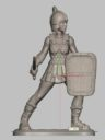 28mm Hard Plastic Satyrs And Scythians 17